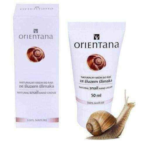 Snail cream Orientana Hand cream with snail slime 50ml