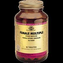 Multivitamin for women Solgar Female Multiple x 60 tablets.
