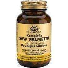 Solgar Saw Palmetto, prickly pear and lycopene x 50 capsules