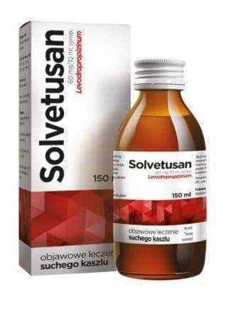 Solvetusan 0.06g / 10ml syrup 150ml
