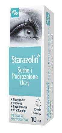 Starazolin Dry and Irritated Eyes eye drops 10ml.