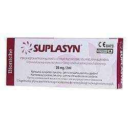Suplasyn 20mg / 2ml x 1 pre-filled syringe, degenerative joint disease, osteoarthritis symptoms