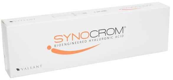 Synocrom 20mg / 2ml pre-filled syringe 1 pc knee joint pain.