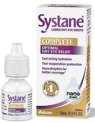 Systane Complete Moisturizing eye drops 10ml