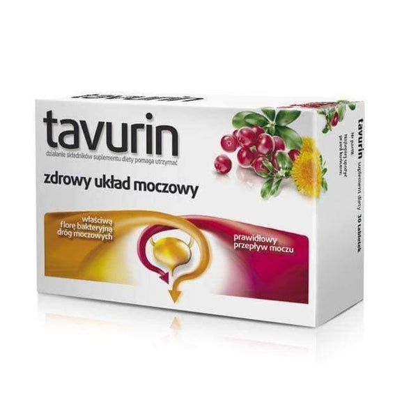 TAVURIN x 30 tablets inflammation, urinary tract infections