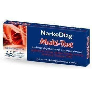 TEST Narkodiag Multi-Test quickly to detect the presence of drugs