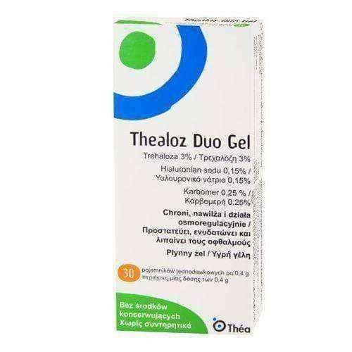 THEALOZ DUO GEL UD 30 x 0.4ml - Thealoz Duo Gel.