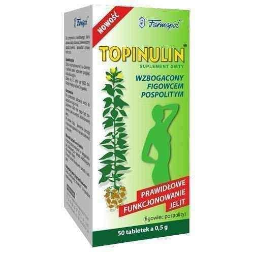 TOPINULIN x 50 tablets, treatment of diabetes mellitus, metabolism booster