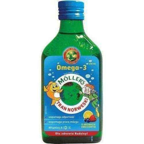 TRAN Mollers fruity 250ml