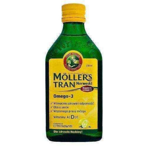 TRAN Mollers lemon 250ml