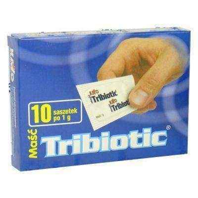 TRIBIOTIC ointment 1g x 10 sachets skin infection treatment.