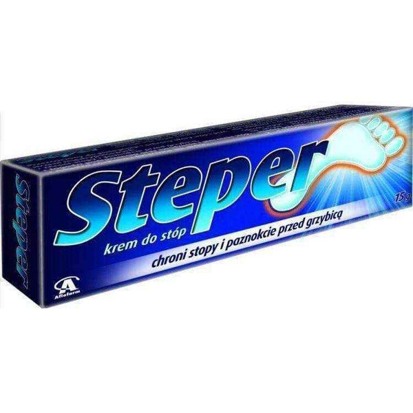The stepper foot cream 15g, foot care products, feet cream.