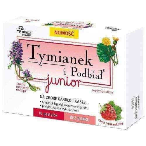 Thyme and Coltsfoot Junior x 16 lozenges