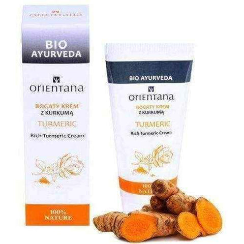 Turmeric cream | ORIENTANA Rich cream with turmeric 30g