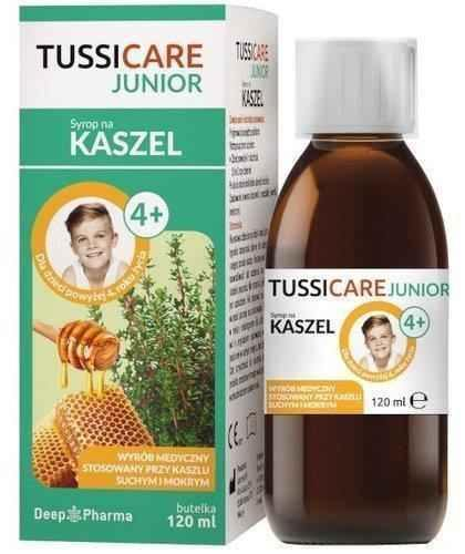 Tussicare junior syrup 120ml UK
