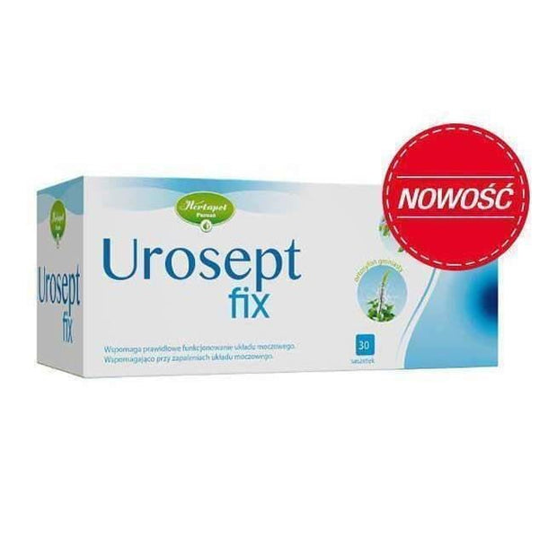 Urosept fix x 20 sachets help in the proper functioning of the urinary tract