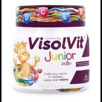 VISOLVIT JUNIOR jellies x 50 pieces vitamins use in children over 3 years