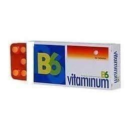 VITAMINUM B6 50mg x 50 tablets vitamin b6 benefits  muscular dystrophy symptoms