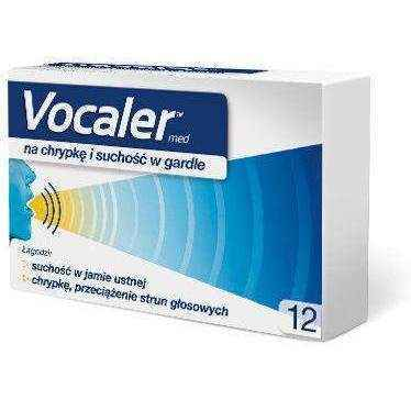VOCALER x 12 lozenges, laryngitis treatment, laryngitis home remedies