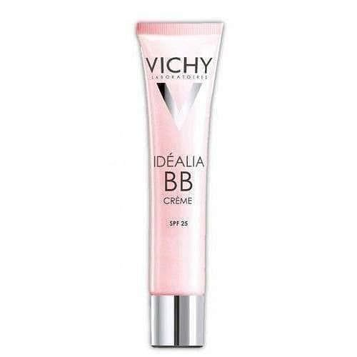 Vichy idealistic CLAIRE BB Cream 40ml light shade beneficial effect on skin color and moisturizes it