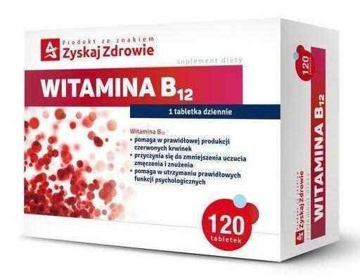 Vitamin B12 x 120 tablets - ELIVERA