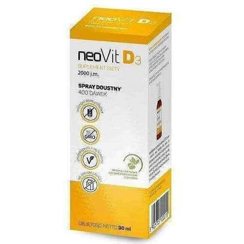 Vitamin d3 spray, Neovit D3 lip spray 30ml