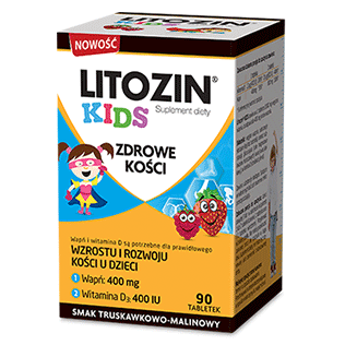 Vitamins and minerals for kids, Litozin Kids x 90 tablets