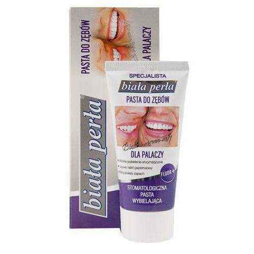 WHITE PEARL Past.do teeth for smokers 75ml, best teeth whitening toothpaste, smokers toothpaste