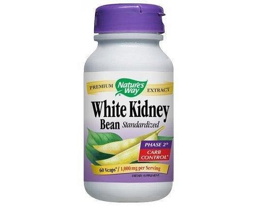 White Kdney bean 1000 mg 60 capsules.