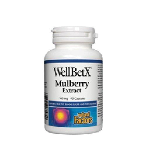 White Mulberry, 100 mg 90 Capsules, White Mulberry Extract.