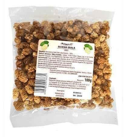 White mulberry fruit 100g - ELIVERA