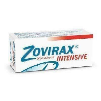 ZOVIRAX cream Intensive 5% 2g - cold sores and other changes herpes on his face UK