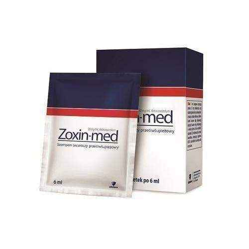 ZOXIN-MED Shampoo 6 sachets 6ml, how to cure dandruff
