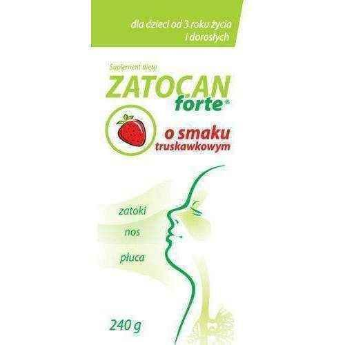 ZATOCAN Forte syrup with strawberry flavor 240g