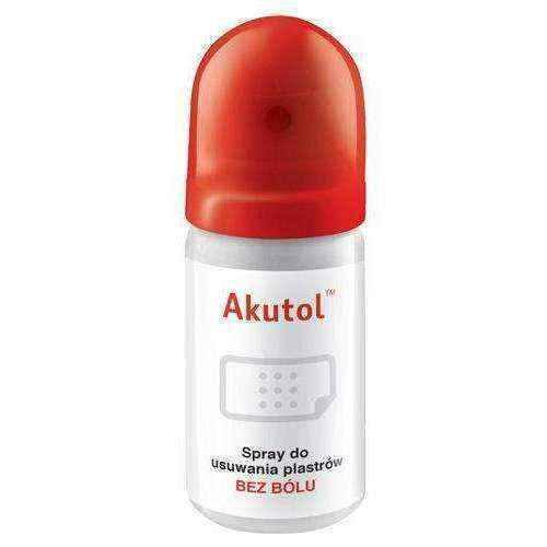 AKUTOL Spray for removing patches 35ml - ELIVERA