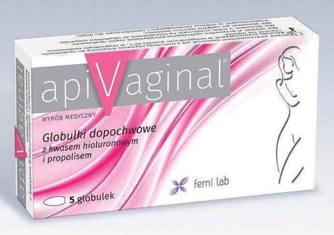 apiVaginal vaginal globules x 5 pieces, dry vigina remedies UK