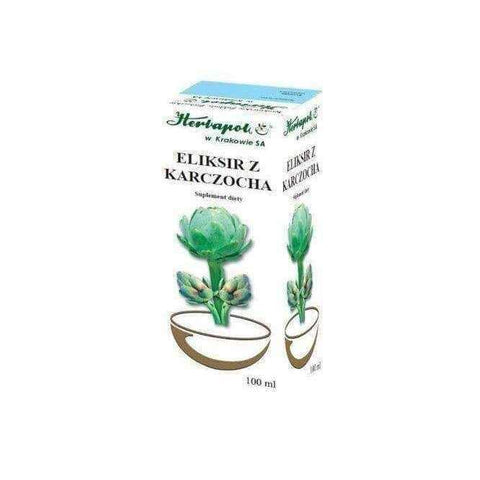 Artichoke herb -ELIKSIR WITH PORCELAIN 100ml