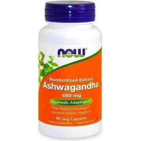 Ashwagandha Extract 450mg x 90 Veg capsules UK
