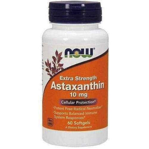 Astaxanthin 10mg x 60 softgels capsules UK