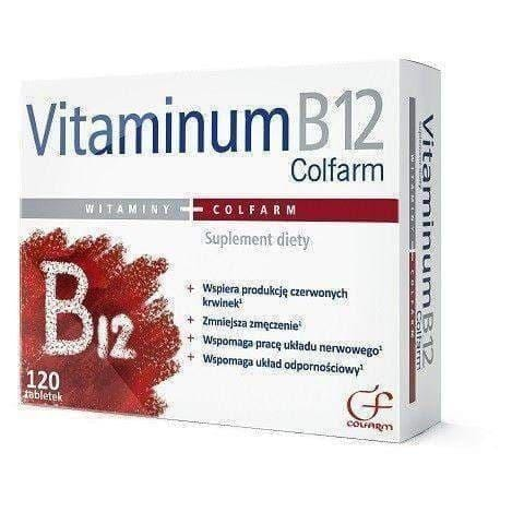 b12 tablets Colfarm N120 helps the nervous system