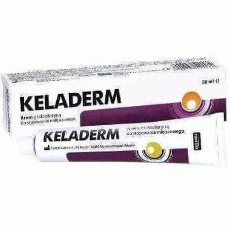 !Keladerm cream with lactoferrin 50ml - ELIVERA UK, Reviews, Buy Online