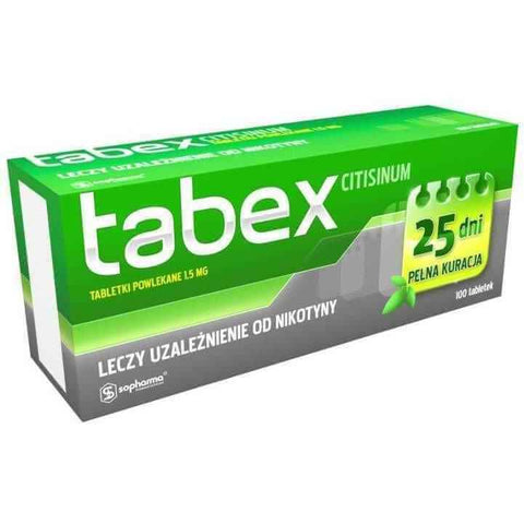 !Tabex tablets N100, stop smoking, nicorette, UK, USA and worldwide, quit smoking, cytisine - ELIVERA UK, England, Britain, Review, Buy