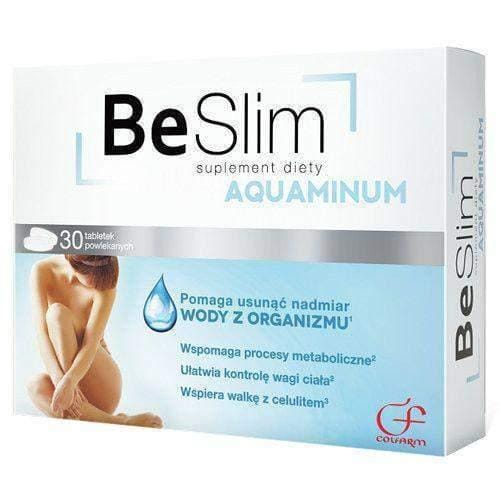 Be Slim Aquaminum N30 FAT LOSS, SLIMMING, WEIGHT LOSS, FAT BINDER - UK STOCK