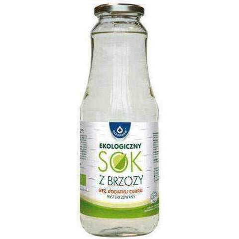 Birch juice BIO without added sugar 1000ml - ELIVERA