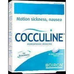 Cocculine BOIRON N30 tablets Homeopathy Motion Travel Sickness Nausea EXP.DATE: 03.2016