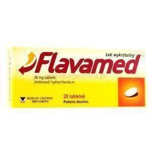 Flavamed Cough Tablets N20 bronchial disease, pulmonary