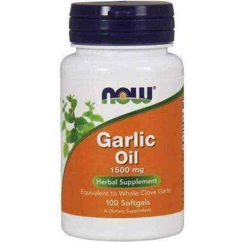 Garlic Oil 1500mg x 100 softgels capsules
