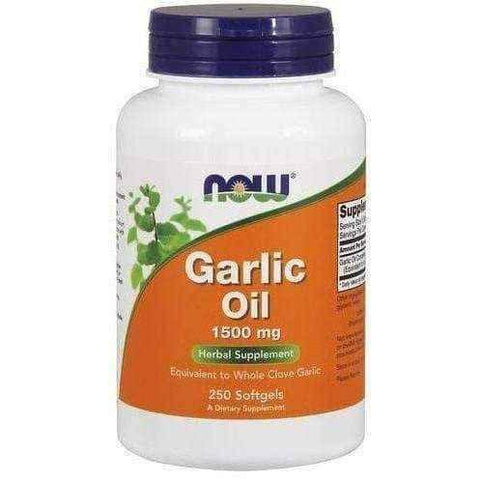 Garlic Oil 1500mg x 250 softgels capsules