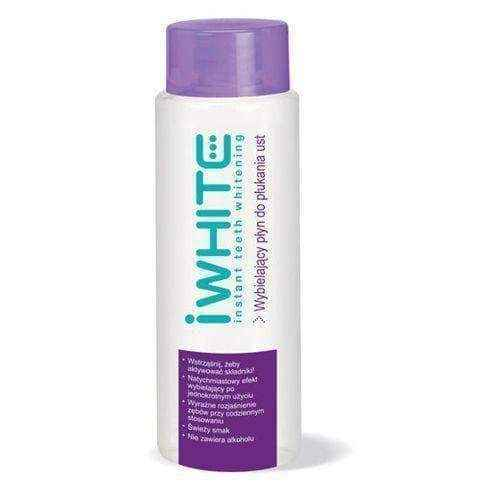 iWhite Instant Whitening mouthwash 500 ml, iwhite teeth whitening