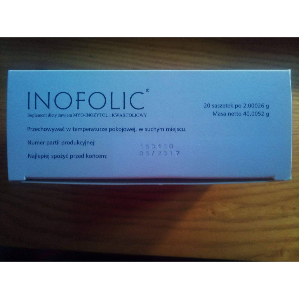 UK INOFOLIC Sachets N20 PCOS Treatment, Inositol & Folic
